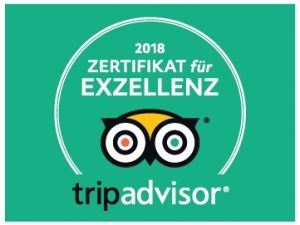 Zertifikat für Exzellenz 2018 EXIT/SALIDA Escape room