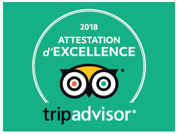 Attestation d'Excellence 2018 EXIT/SALIDA Escape room