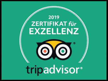 Zertifikat für Exzellenz 2019 EXIT/SALIDA Escape room