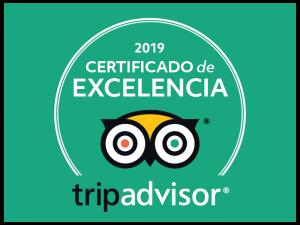 Certificado de Excelencia 2019 EXIT/SALIDA Escape room