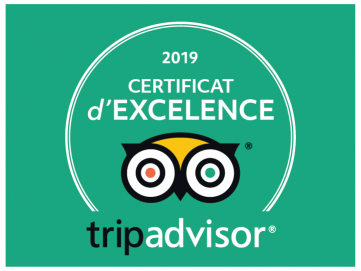 Certificat d'Excellence 2019 EXIT/SALIDA Escape room